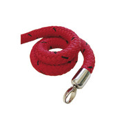stopper tex rope red, connector chrome-plated